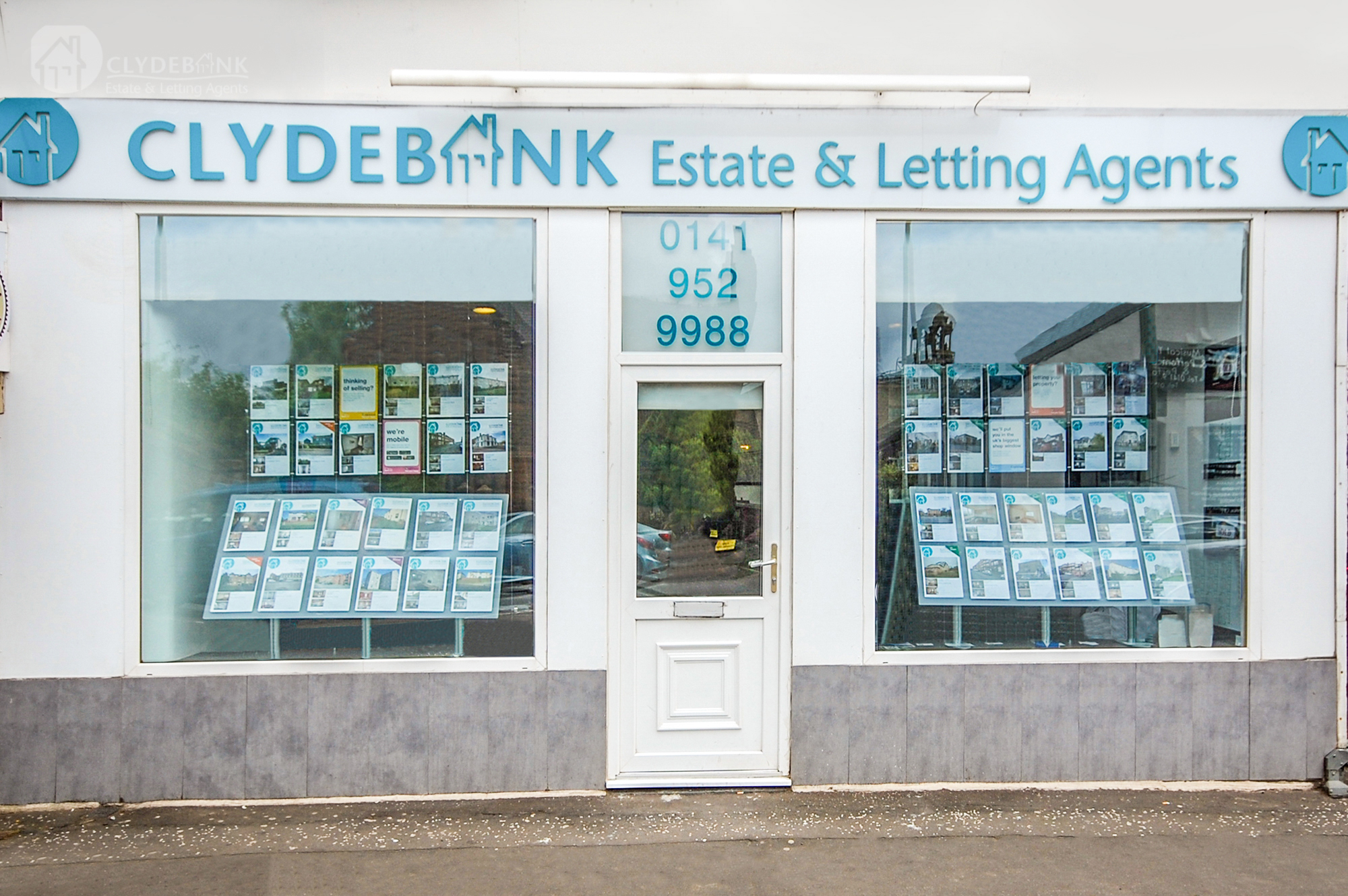 Clydebank Estate Agents shop front